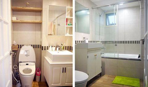 卫生间洗漱台简欧风格装修设计图片