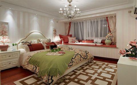 卧室细节古典风格装饰效果图
