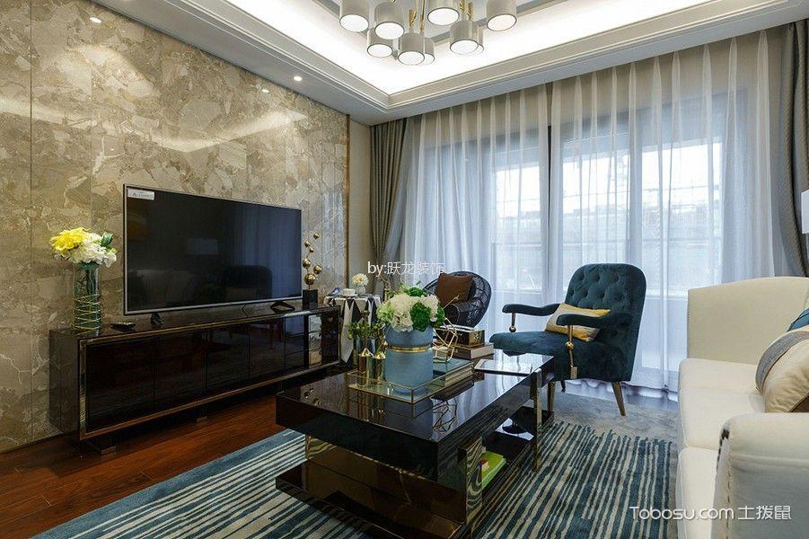 御城120平现代简约风格三居室风格装修效果图