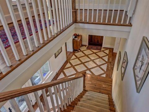 地下室楼梯美式风格效果图