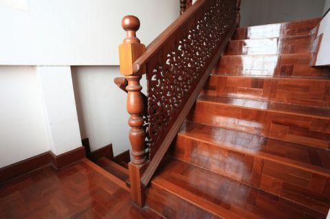 楼梯简欧风格装潢效果图