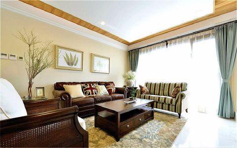 永和居易120M²美式三居室装修效果图