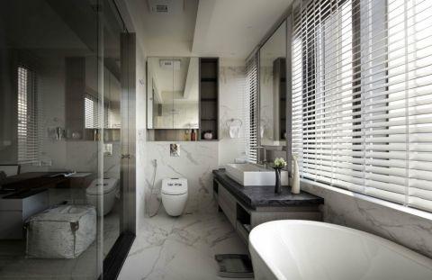 卫生间阁楼简约风格装饰设计图片