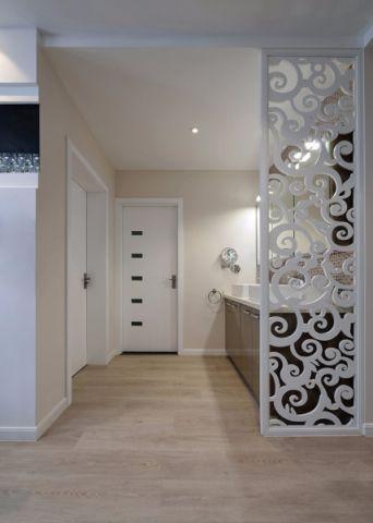 玄关隔断现代风格装饰设计图片