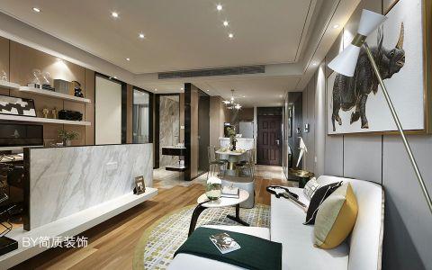 联心嘉园75平现代风格两室一厅装修效果图