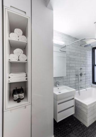 卫生间洗漱台现代风格装潢设计图片