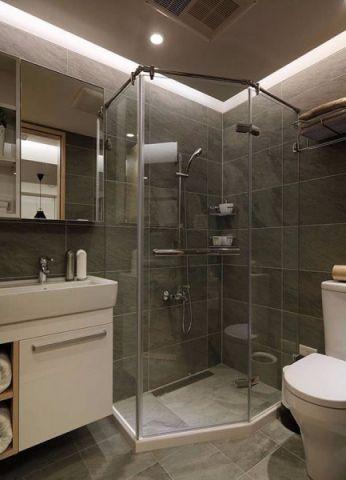 卫生间细节现代简约风格效果图