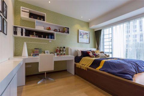 儿童房榻榻米现代简约风格装潢图片