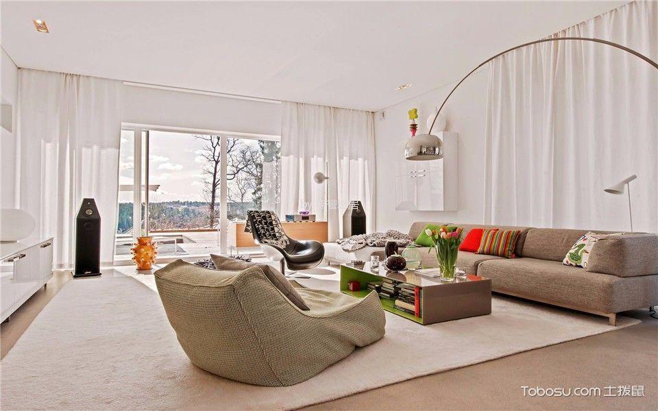 北欧风格360平米复式室内装修效果图