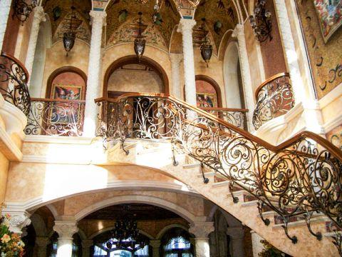 清新雅致简欧风格楼梯装修效果图