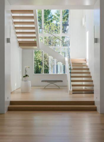 清新自然现代风格楼梯装修效果图