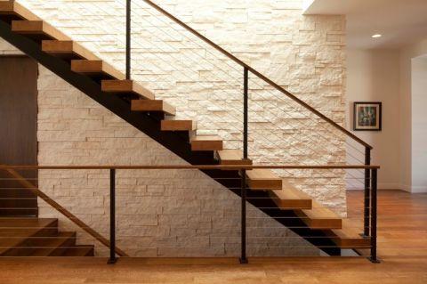 原汁原味现代风格楼梯装修效果图