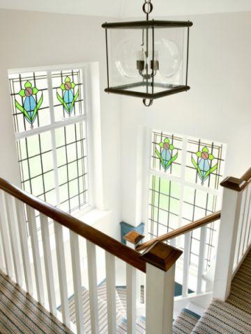 浪漫迷人简欧风格楼梯装修效果图