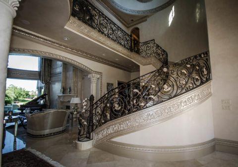 井井有条简欧风格楼梯装修效果图