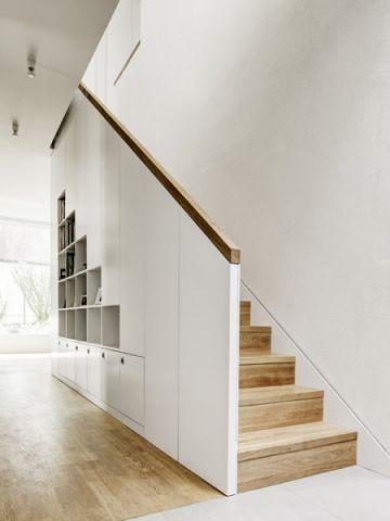 简洁优雅现代风格楼梯装修效果图