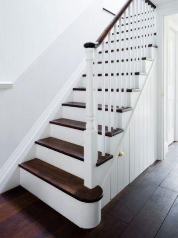 清新简约简欧风格楼梯装修效果图