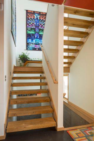 温馨舒适现代风格楼梯装修效果图_土拨鼠装修2017装修图片大全