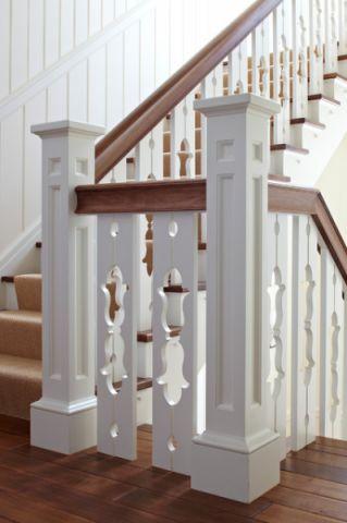 唯美简欧风格楼梯装修效果图