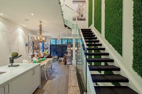 时尚创意混搭风格楼梯装修效果图