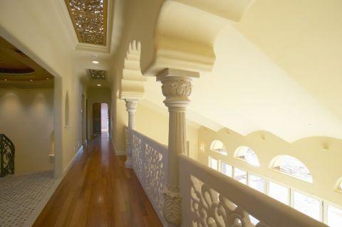 特立独行混搭风格走廊装修效果图