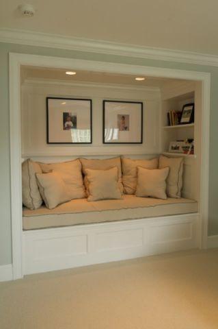 优雅时尚美式风格地下室装修效果图