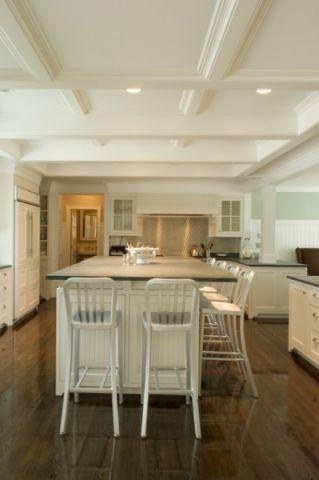 厨房吧台美式风格效果图