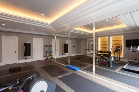 格调现代风格健身房装修效果图