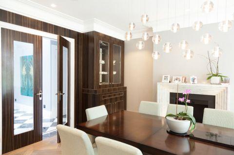 餐厅橱柜现代风格装潢效果图