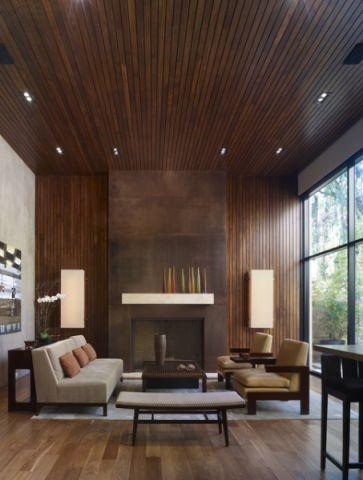 清新简约现代风格客厅装修效果图