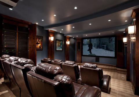 休闲质感美式风格客厅装修效果图