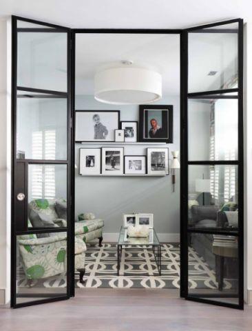 自然写意现代风格客厅装修效果图