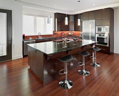 厨房吧台现代风格装修效果图