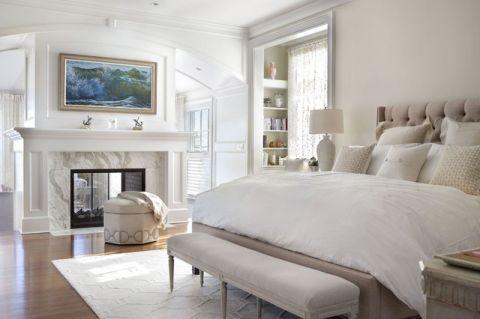 品质生活美式风格卧室装修效果图