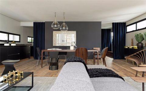 客厅沙发北欧风格装饰图片