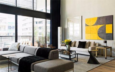 北欧风格180平米大户型室内装修效果图