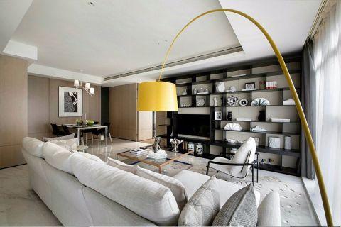 半岛城邦80平现代风格一室两厅一卫一厨装修效果图