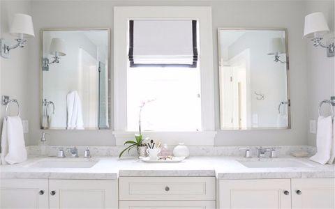 卫生间细节北欧风格装饰设计图片