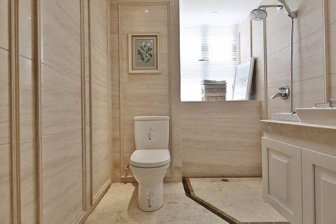 卫生间地砖简欧风格效果图