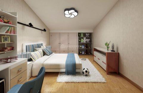儿童房吊顶中式风格装饰效果图