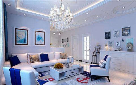 客厅吊顶欧式风格装饰效果图