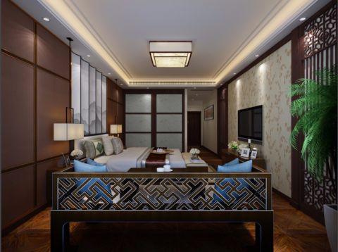 客厅背景墙简中风格装饰设计图片