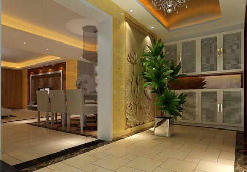帝豪水榭花都186平方现代简约四室两厅效果图