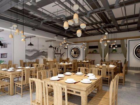 兴华西街61中西宫附近徽派民居主题餐厅装修效果图