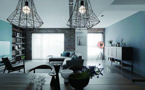 客厅细节简约风格装饰图片