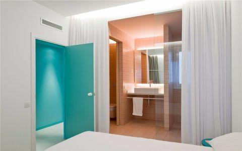卧室隔断北欧风格装修图片