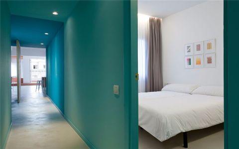 卧室走廊北欧风格装饰图片