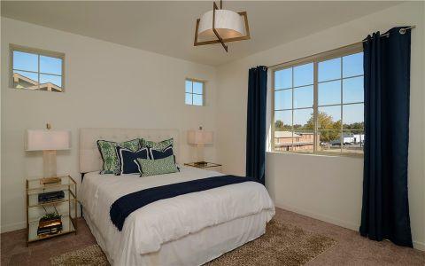 卧室窗台美式风格装修效果图