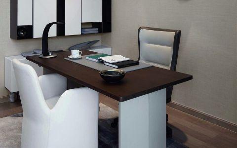 书房吧台简约风格装修设计图片