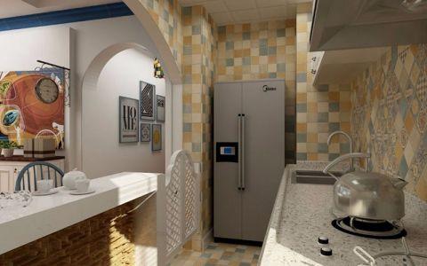 厨房细节地中海风格装潢设计图片