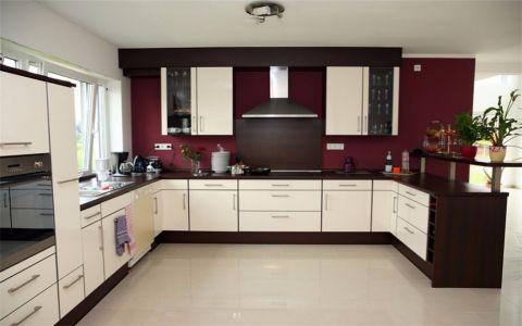 世茂海峡城109平米现代风格三居室装修效果图